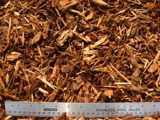 Redwood Bark Chips ~ Bark and wood chips central coast landscape products inc